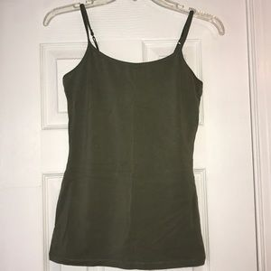 Express olive green camisole. Size Small.